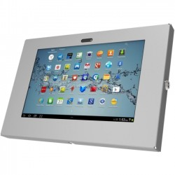 Compulocks Brands - 205GEB - Compulocks Wall Mount for Tablet PC - 10.1 Screen Support - Aluminum - Black
