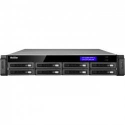 QNAP Systems - VS-8148U-RP-PRO-US - QNAP VS-8148U-RP Pro (Network Video Recorder) - Network Video Recorder - H.264, MxPEG, MPEG-4, Motion JPEG Formats - 1 VGA Out