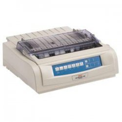 Okidata - 62423901 - Oki MICROLINE 491 Dot Matrix Printer - 475 cps Mono - 360 x 360 dpi - Parallel, USB, Serial