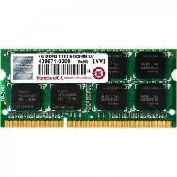 Transcend - TS512MSK64W3N - Transcend 4GB DDR3L 1333 SO-DIMM 2Rx8 - 4 GB - DDR3 SDRAM - 1333 MHz - 1.35 V - Unbuffered - 204-pin - SoDIMM
