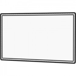 Da-Lite - 36431 - Da-Lite Lace and Grommet Projection Screen - Da-Mat