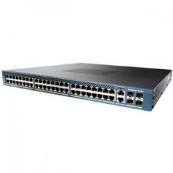 Cisco - WS-C4948-10GE-RF - Cisco Catalyst 4948-10GE Layer 3 Ethernet Switch - 2 x X2 - 48 x 10/100/1000Base-T