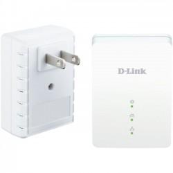 D-Link - DHP-209AV - D-Link DHP-209AV PowerLine AV 200 Mini Adapter Starter Kit - 2 - 1 x Network (RJ-45) - 200 Mbit/s Powerline - HomePlug AV - Fast Ethernet