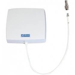 Wireless Extenders / zBoost - YX027-F - zBoost Directional Indoor Wall-Mount Antenna - Range - UHF - 824 MHz, 1.71 GHz to 960 MHz, 2.17 GHz - 8 dBi - Cellular NetworkWall Mount - Directional