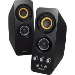Creative Labs - 51MF1655AA001 - Creative MF1655 2.0 Speaker System - Wireless Speaker(s) - Black - 2.40 GHz - 2.48 GHz - 32.8 ft - Bluetooth - Near Field Communication