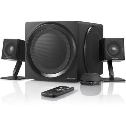 Creative Labs - 51MF0430AA002 - Creative T4 Bluetooth Wireless 2.1 Speaker System - Wireless Speaker(s) - Black - 2.40 GHz - 2.48 GHz - 32.8 ft - Bluetooth - Near Field Communication