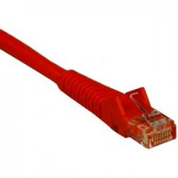 Tripp Lite - N201-010-OR - Tripp Lite 10ft Cat6 Gigabit Snagless Molded Patch Cable RJ45 M/M Orange 10' - 10ft - 1 x RJ-45 Male - 1 x RJ-45 Male - Orange