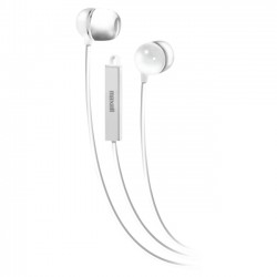 Maxell - 190303 - Maxell White Earbuds With Mic