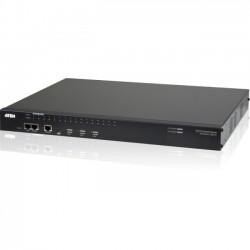 Aten Technologies - SN0132 - Aten Serial Console Server - 4 x Network (RJ-45) - 1 x USB - 32 x Serial Port - Gigabit Ethernet - Management Port - Desktop