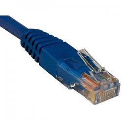 Tripp Lite - N002-010-BL - Tripp Lite 10ft Cat5e / Cat5 350MHz Molded Patch Cable RJ45 M/M Blue 10' - Category 5e - Patch Cable - 10 ft - 1 Pack - 1 x RJ-45 Male - 1 x RJ-45 Male - Blue