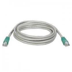 Tripp Lite - N010-010-GY - Tripp Lite 10ft Cat5e Cat5 Molded Snagless Crossover Patch Cable RJ45 Gray 10' - 10ft - 1 x RJ-45 Male - 1 x RJ-45 Male - Gray