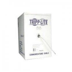Tripp Lite - N022-01K-GY - Tripp Lite 1000ft PVC CMR CAT5E CAT5 SOLID UTP BULK CABLE GRAY 1000' - 1000ft - Gray