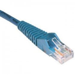 Tripp Lite - N201-005-BL - Tripp Lite 5ft Cat6 Gigabit Snagless Molded Patch Cable RJ45 M/M Blue 5' - 5ft - 1 x RJ-45 Male - 1 x RJ-45 Male - Blue