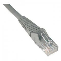 Tripp Lite - N201-007-GY - Tripp Lite 7ft Cat6 Gigabit Snagless Molded Patch Cable RJ45 M/M Gray 7' - 7ft - 1 x RJ-45 Male - 1 x RJ-45 Male - Gray