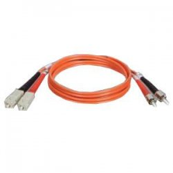 Tripp Lite - N304-006 - Tripp Lite 2M Duplex Multimode 62.5/125 Fiber Optic Patch Cable SC/ST 6' 6ft 2 Meter - ST Male - SC Male - 6ft