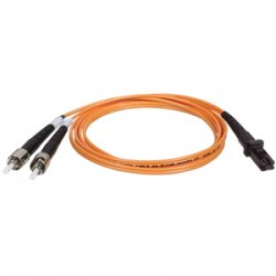 Tripp Lite - N308-003 - Tripp Lite 1M Duplex Multimode 62.5/125 Fiber Optic Patch Cable MTRJ/ST 3' 3ft 1 Meter - MT-RJ Male - ST Male - 3ft