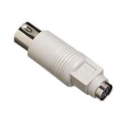 Tripp Lite - P108-000 - Tripp Lite PS/2 to AT IBM Keyboard Adapter - (DIN5 to Mini-DIN6 M/F)