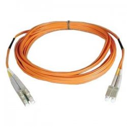 Tripp Lite - N320-15M - Tripp Lite 15M Duplex Multimode 62.5/125 Fiber Optic Patch Cable LC/LC 50' 50ft 15 Meter - LC Male - LC Male - 49.21ft