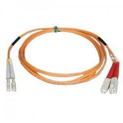 Tripp Lite - N516-05M - Tripp Lite 5M Duplex Multimode 50/125 Fiber Optic Patch Cable LC/SC 16' 16ft 5 Meter - LC Male - SC Male - 16.4ft