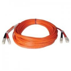 Tripp Lite - N506-30M - Tripp Lite 30M Duplex Multimode 50/125 Fiber Optic Patch Cable SC/SC 100' 100ft 30 Meter - SC Male - SC Male - 98.43ft - Yellow