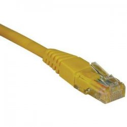 Tripp Lite - N002-014-YW - Tripp Lite 14ft Cat5e / Cat5 350MHz Molded Patch Cable RJ45 M/M Yellow 14' - 14ft - 1 x RJ-45 Male - 1 x RJ-45 Male - Yellow