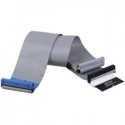 "Tripp Lite - P906-18I - Tripp Lite 18in Internal Ribbon Cable Dual Ultra 33/36/100 ATA/DMA EIDE - (3Conn 40P), 18-in."""