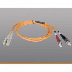 Tripp Lite - N518-05M - Tripp Lite 5M Duplex Multimode 50/125 Fiber Optic Patch Cable LC/ST 16' 16ft 5 Meter - LC - ST - 16.4ft