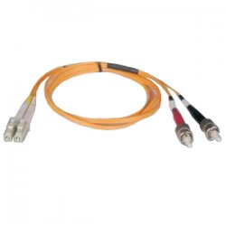 Tripp Lite - N518-10M - Tripp Lite 10M Duplex Multimode 50/125 Fiber Optic Patch Cable LC/ST 33' 33ft 10 Meter - LC - ST - 32.81ft