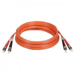 Tripp Lite - N302-10M - Tripp Lite 10M Duplex Multimode 62.5/125 Fiber Optic Patch Cable ST/ST 33' 33ft 10 Meter - ST - ST - 32.81ft