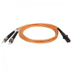 Tripp Lite - N308-05M - Tripp Lite 5M Duplex Multimode 62.5/125 Fiber Optic Patch Cable MTRJ/ST 16' 16ft 5 Meter - MT-RJ - ST - 16.4ft