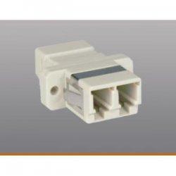 Tripp Lite - N455-000 - Tripp Lite Duplex Fiber Optic MMF / SMF Multimode Singlemode Coupler LC/LC - Plastic