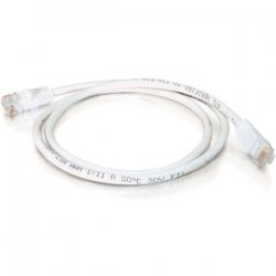 C2G (Cables To Go) - 19520 - 25ft Cat5e Snagless Unshielded (UTP) Network Patch Cable - White - Category 5e for Network Device - RJ-45 Male - RJ-45 Male - 25ft - White