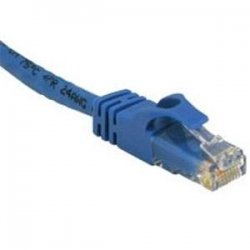 C2G (Cables To Go) - 31341 - 5ft Cat6 Snagless Unshielded (UTP) Ethernet Network Patch Cable - Blue - Category 6 for Network Device - RJ-45 Male - RJ-45 Male - 5ft - Blue