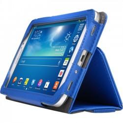 Kensington - K97162WW - Kensington K97162WW 7.0 Portafolio Soft Folio Case for Samsung Galaxy Tab 3 (Blue)