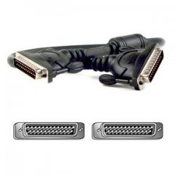Belkin / Linksys - F1D108-CBL-10 - Belkin Daisy-chain Cable - DB-25 Male - DB-25 Male - 10ft - Black