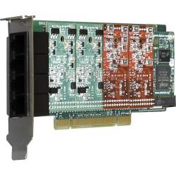 Digium - 1A4A05F - Digium A4A Voice Board - PCI - 4 x FXS - Plug-in Card