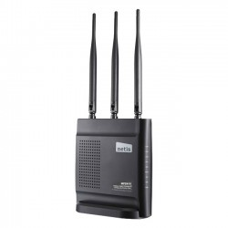 NETIS Systems - WF-2409 - Netis WF-2409 IEEE 802.11n Wireless Router - 2.48 GHz ISM Band - 3 x Antenna - 300 Mbit/s Wireless Speed - 4 x Network Port - 1 x Broadband Port - Fast Ethernet - Desktop