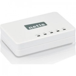 NETIS Systems - WF-2405 - Netis WF-2405 IEEE 802.11n Ethernet Wireless Router - 2.48 GHz ISM Band - 150 Mbit/s Wireless Speed - 1 x Broadband Port - USB - Fast Ethernet - VPN Supported - Desktop