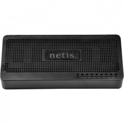 NETIS Systems - ST3108S - Netis 8 Port Fast Ethernet Switch - 2 Layer Supported - Desktop, Wall Mountable