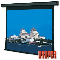 Draper - 101657 - Draper Premier Electric Projection Screen - 137 - 16:10 - Wall Mount, Ceiling Mount - 72.5 x 116 - Pearl White CH1900V
