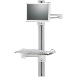 Humanscale - SOR4381V7 - Humanscale ViewPoint V7 Wall Mount Track for CPU, Keyboard