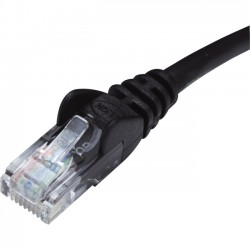 Belkin / Linksys - TAA791-14-BLK-S - Belkin - Patch cable - RJ-45 (M) to RJ-45 (M) - 14 ft - UTP - CAT 5e - molded, snagless, stranded - black