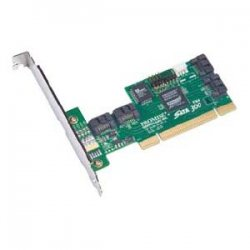 Promise Technology - SATA300 TX4302 - Promise SATA300 TX4302 4-port PCI adapter - 2 x 7-pin Serial ATA/300 Serial ATA Internal, 2 x 7-pin Serial ATA/300 External SATA External