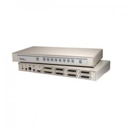Raritan - CS8 - Raritan CompuSwitch CS8 KVM Switch - 8 x 1 - 8 x DB-25 - 1U - Rack-mountable
