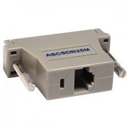 Raritan - ASCSDB25M - Raritan Null Modem Adapter - 1 x RJ-45 Female - 1 x DB-25 Male