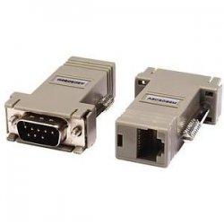 Raritan - ASCSDB9M - Raritan Null Modem Adapter - 1 x RJ-45 Female - 1 x DB-9 Male