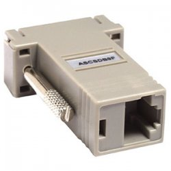Raritan - ASCSDB9F - Raritan Null Modem Adapter - 1 x RJ-45 Female - 1 x DB-9 Female Serial