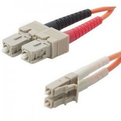 Belkin / Linksys - F2F202L7-20M - Belkin Duplex Fiber Optic Patch Cable - SC Male - LC Male - 65.61ft
