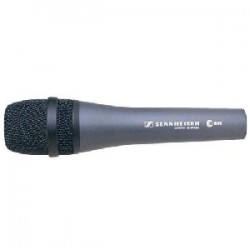 Sennheiser - 004515 - Sennheiser e 845 Microphone - 40 Hz to 16 kHz - Wired - Dynamic - Handheld - XLR