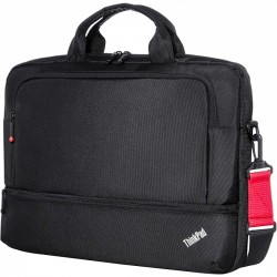 Lenovo - 4X40E77328 - Lenovo Essential Carrying Case for Notebook, Power Supply, Accessories, Document, Pen - Shoulder Strap, Handle, Trolley Strap - 12.1 Height x 15.6 Width x 2.5 Depth